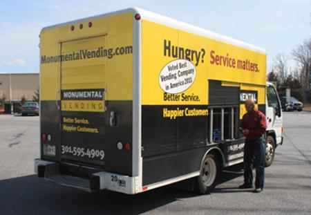 vending machine moving company