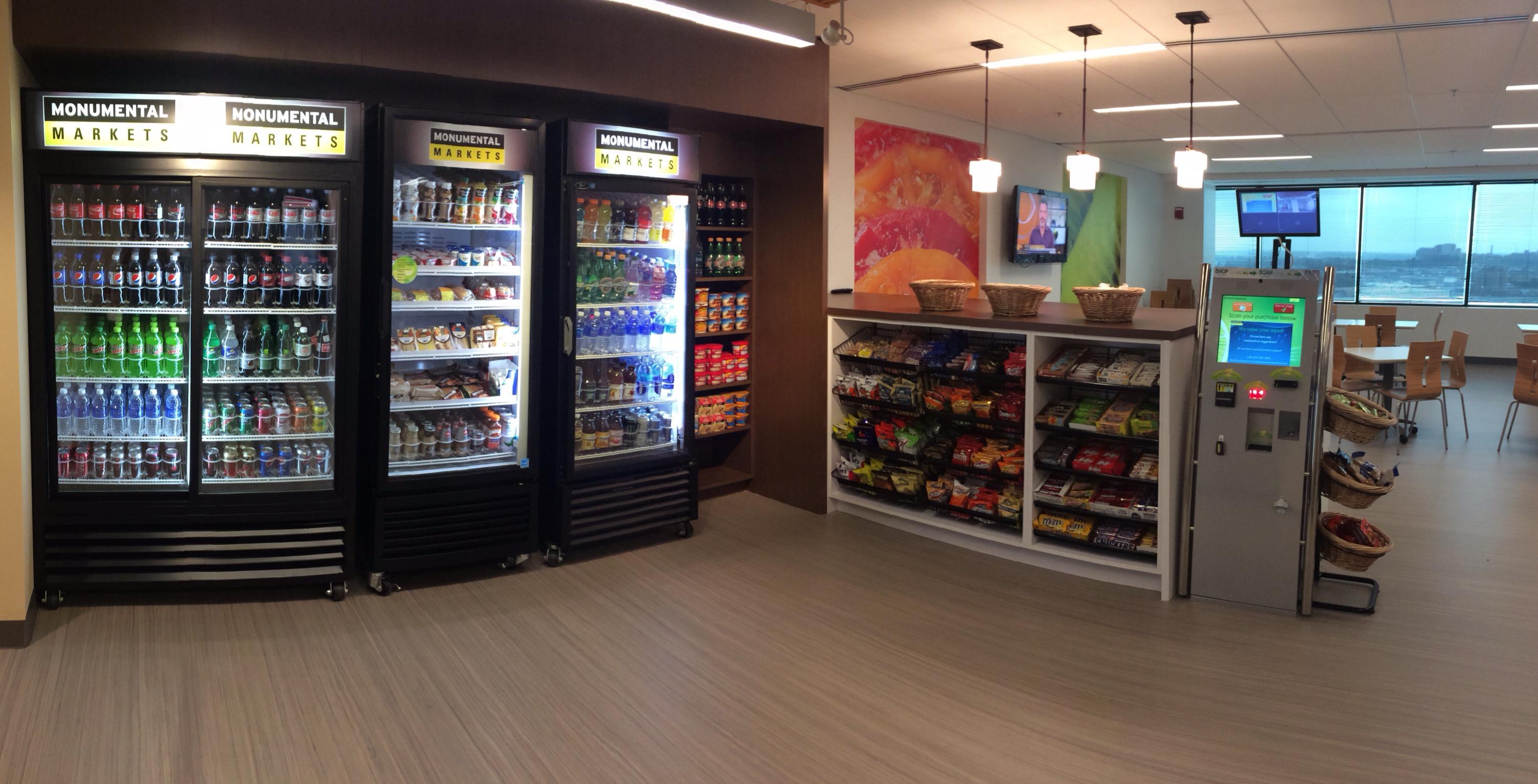 Healthy Alternative to Vending Machines: Monumental Markets